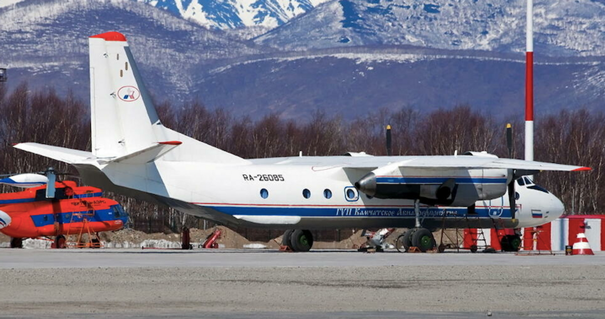 Plane with 28 on board goes missing in Russia's far east
