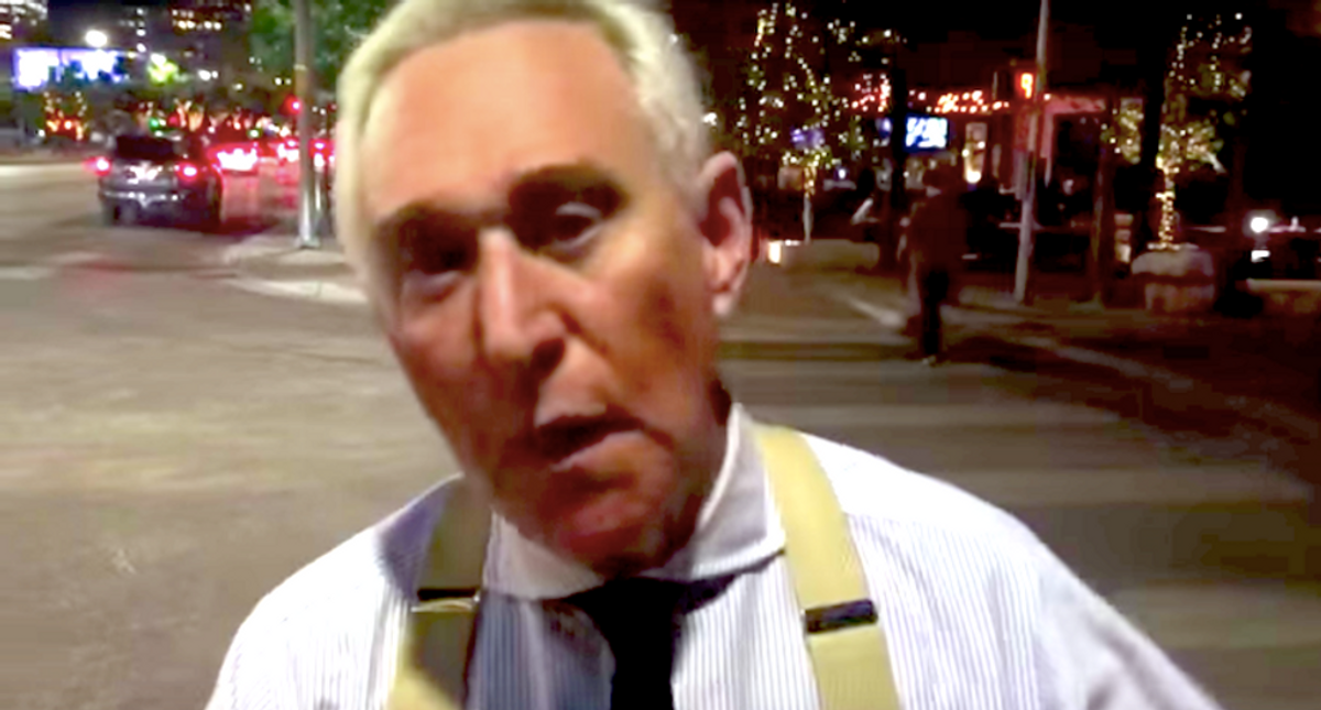 Right-wing blog silently deletes article claiming Roger Stone did 'nothing wrong' on Jan. 6