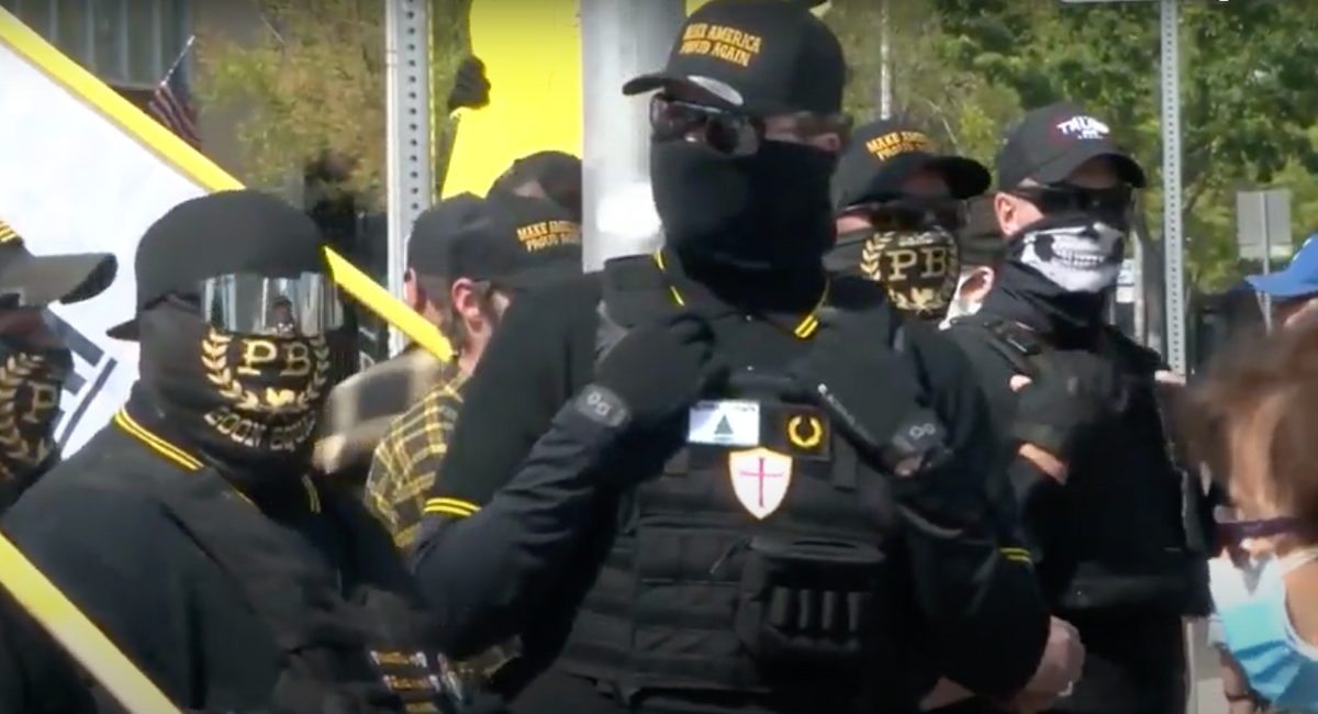 BIG VALLEY: How California Proud Boys forge alliances with anti-gay crusades to gain 'attention and recruits'