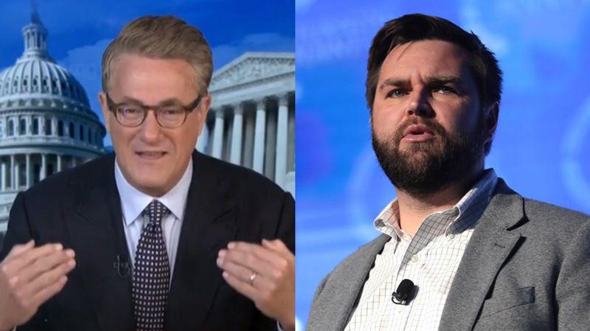 'It's stupid!' MSNBC's Morning Joe slams JD Vance for shredding his reputation to imitate Trump