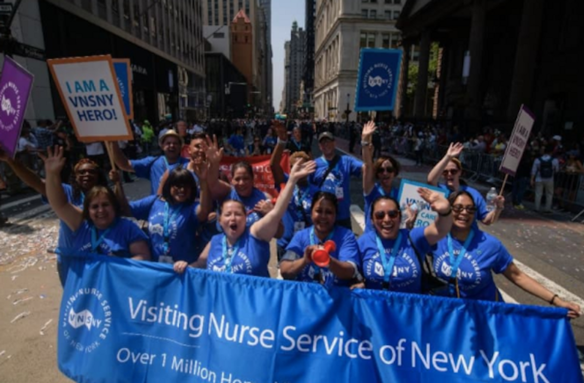 New York honors pandemic 'heroes' with parade