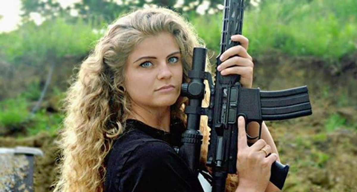 Kent State 'gun girl' Kaitlin Bennett is too extreme even for the Trump campaign?
