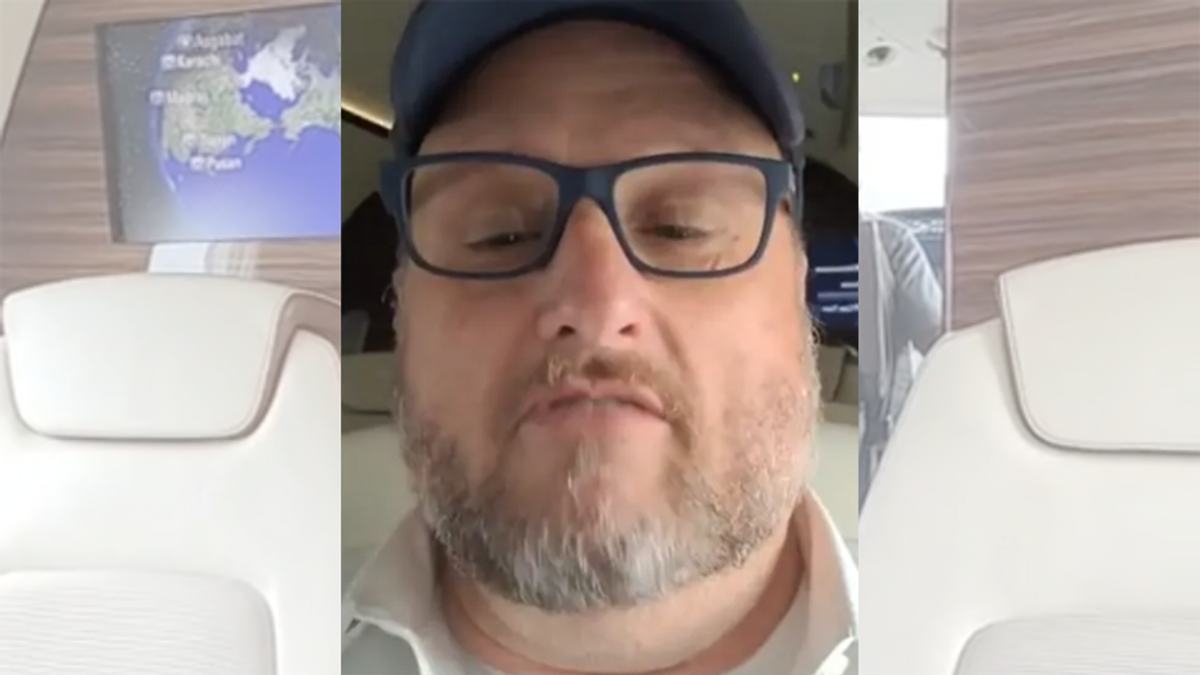 GOP-backed 'inventor' reveals Arizona audit cost $9 million — in video filmed on a private jet