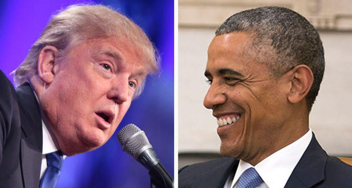 Obama and Trump: Who laughed last?