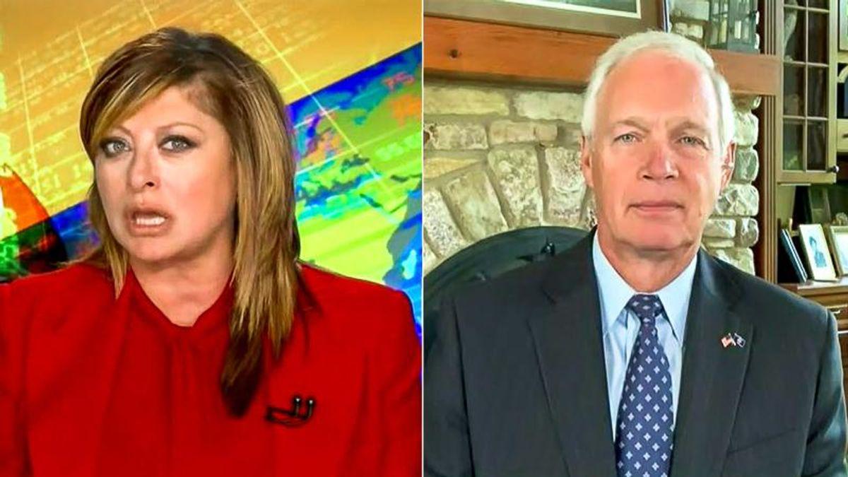 Maria Bartiromo complains Tom Barrack 'sat in jail for four nights' but Hunter Biden didn't