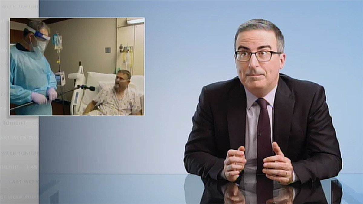 John Oliver destroys those willing to lift COVID restrictions as anti-vaxxers begin to die