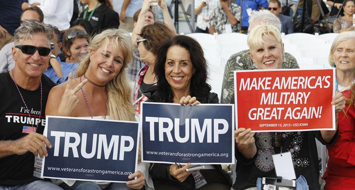 Here is why it was so easy for Trump to sucker Americans into his cult