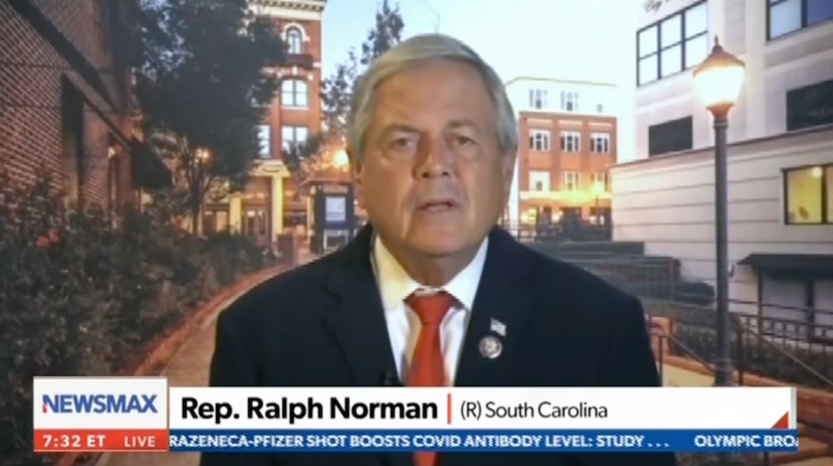 WATCH: GOP congressman rants about 'massive revolts' after he gets fined for not wearing a mask