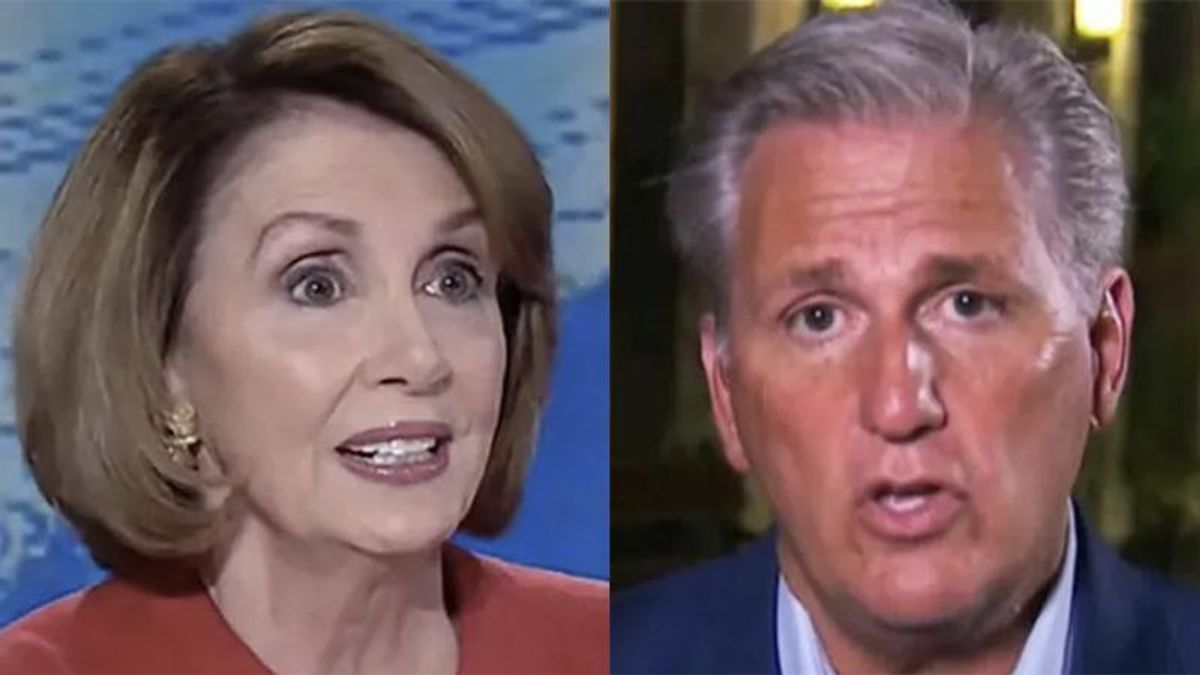 Ex-GOP lawmaker hands Pelosi the keys to undermining McCarthy's attacks on the Capitol investigation