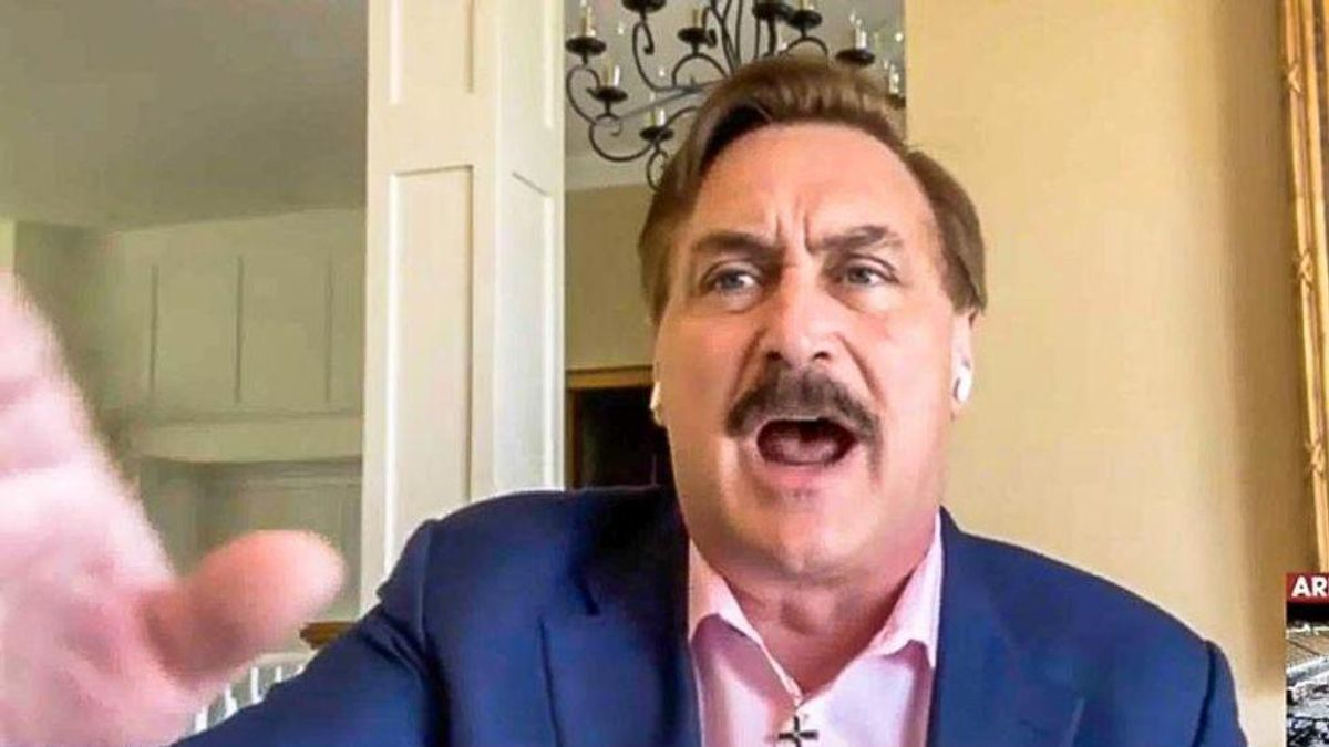 'President Pelosi' trends as Mike Lindell gets hilariously ridiculed for claiming Trump will take over after Biden resigns
