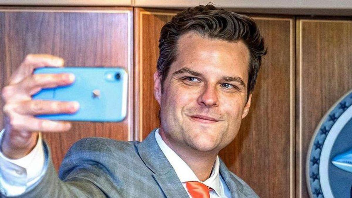 'Creepy' Matt Gaetz is a 'literal pedophile': future sister-in-law