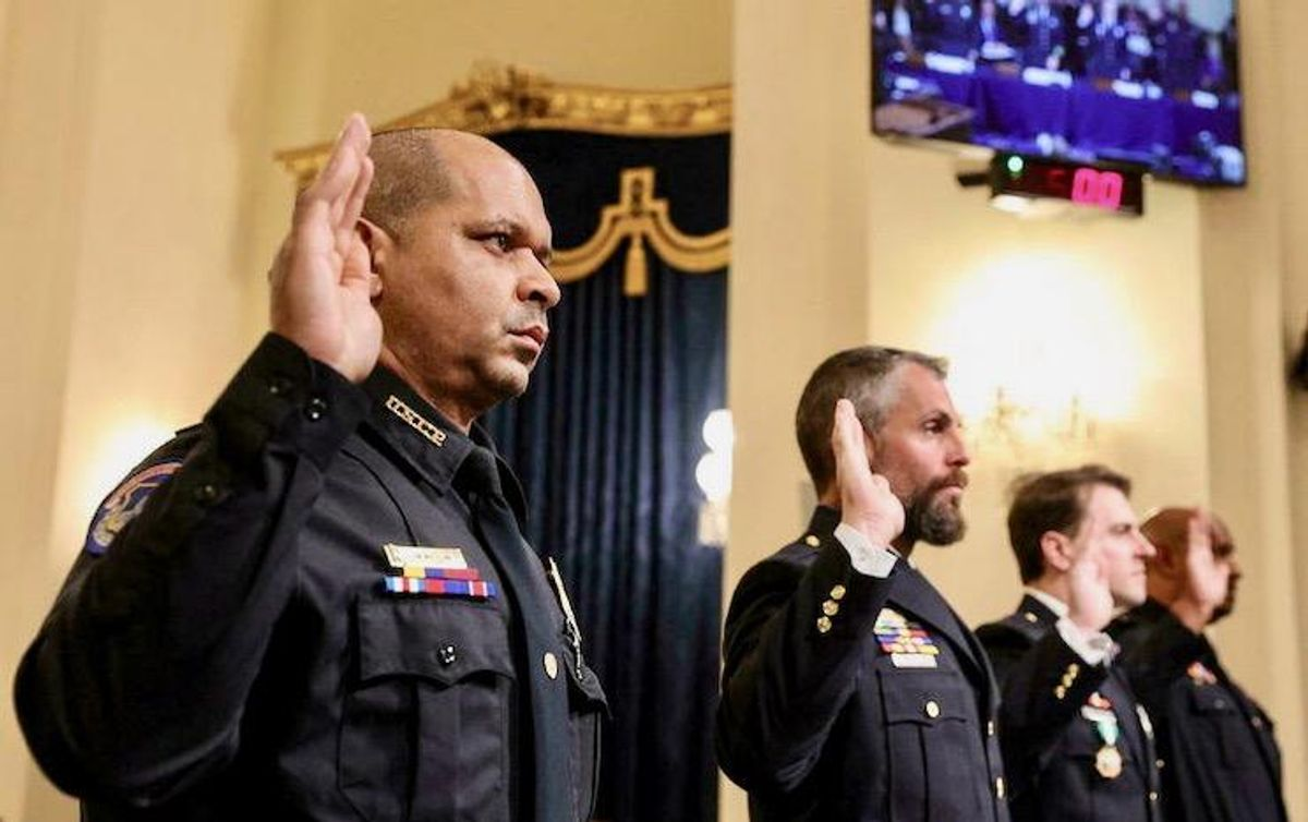 Police tell of 'medieval' violence at US House hearing on Capitol attack