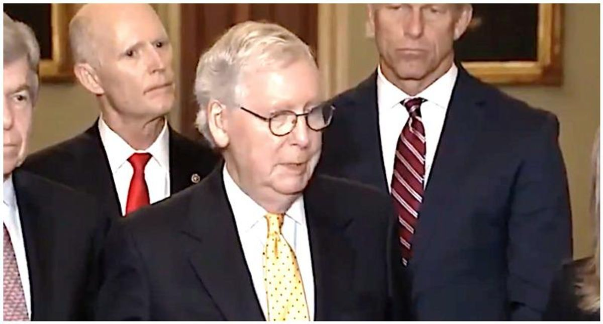 'An embarrassment and a disgrace': McConnell faces brutal backlash after saying he didn't watch 1/6 hearing because he 'had to work'