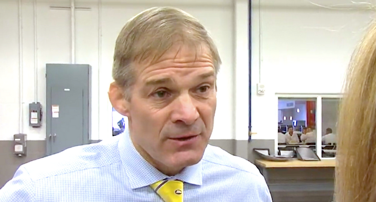 WATCH: Jim Jordan squirms when asked if he talked to Trump about riots — and pivots to blaming Pelosi