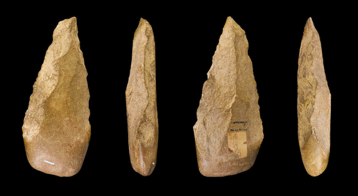 Scientists in Morocco unearth Stone Age hand-axe dating back 1.3 million years