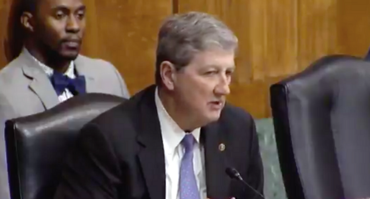 Hearing takes a bizarre turn as Republican demands to know if Biden nominee believes in God