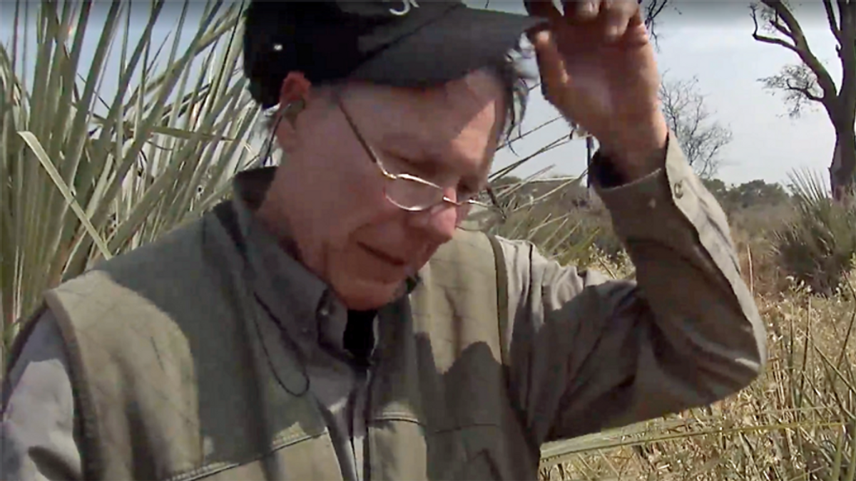 REVEALED: Wayne LaPierre and his wife turned elephant they killed into trash can and handbags