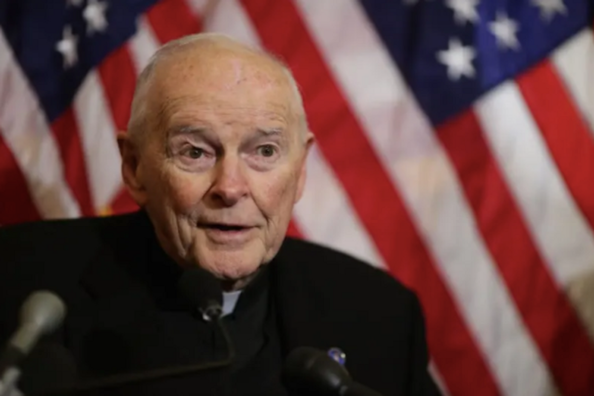 Defrocked US cardinal charged with sexual abuse