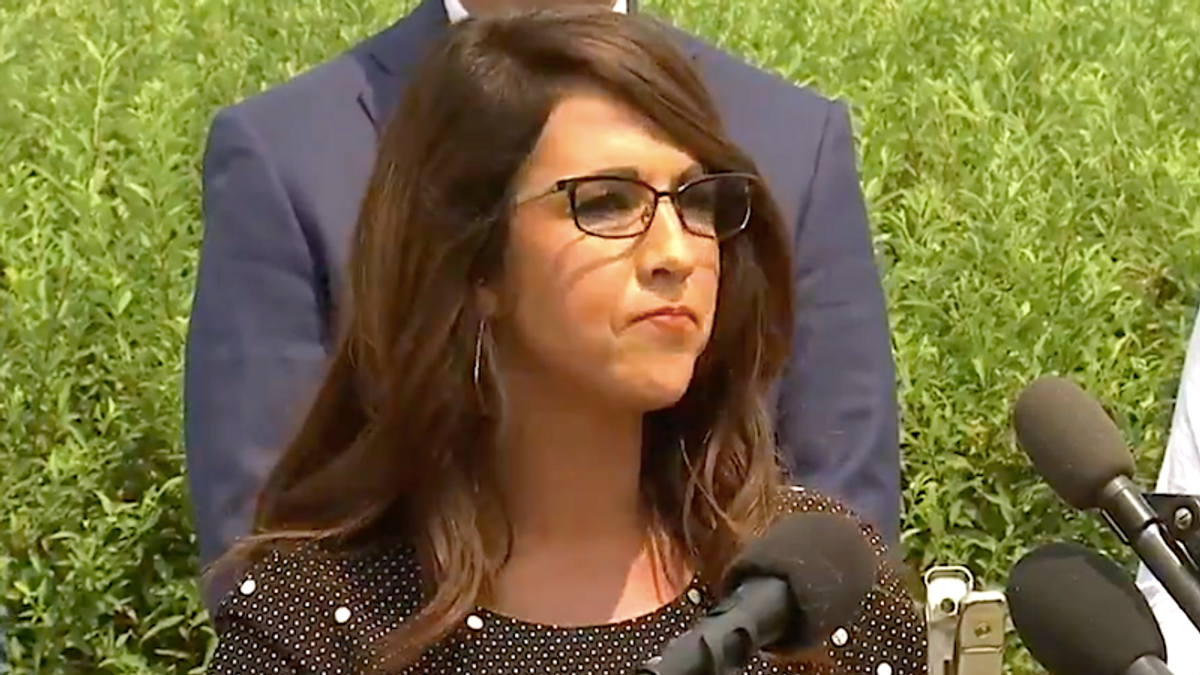 'They are a cancer': Lauren Boebert calls for Liz Cheney and Adam Kinzinger to be banned from GOP cloakroom -- and the House conference