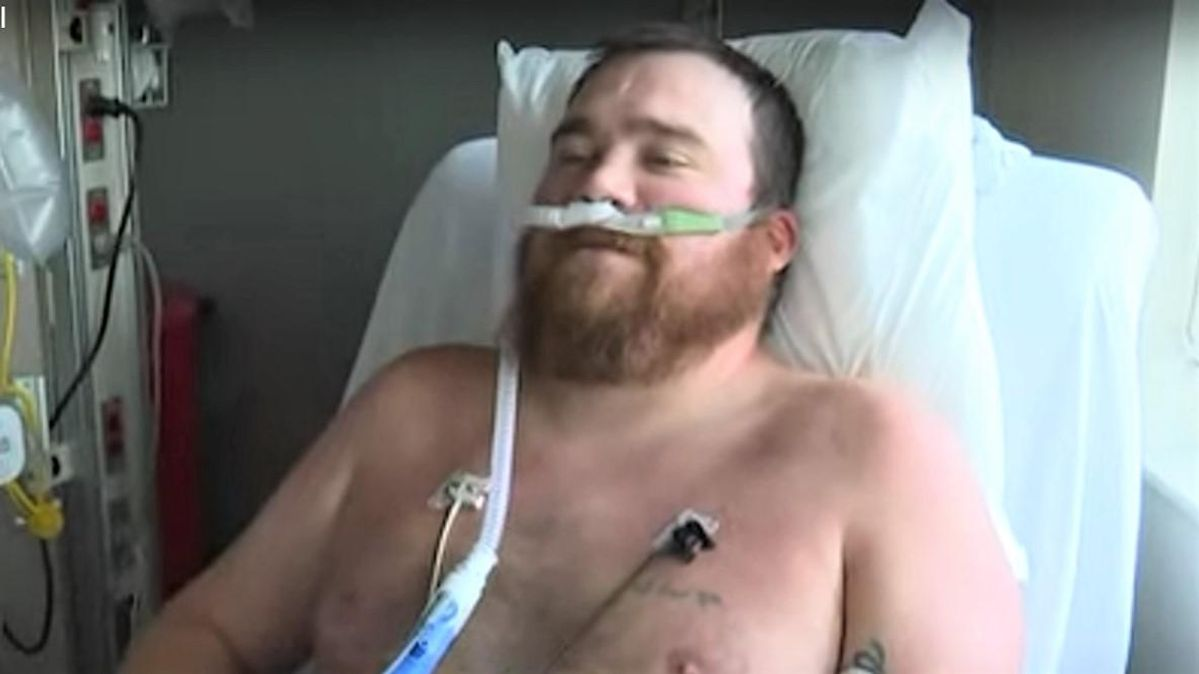 WATCH: Man who was 'strongly against getting the vaccine' now fighting for his life in Missouri ICU