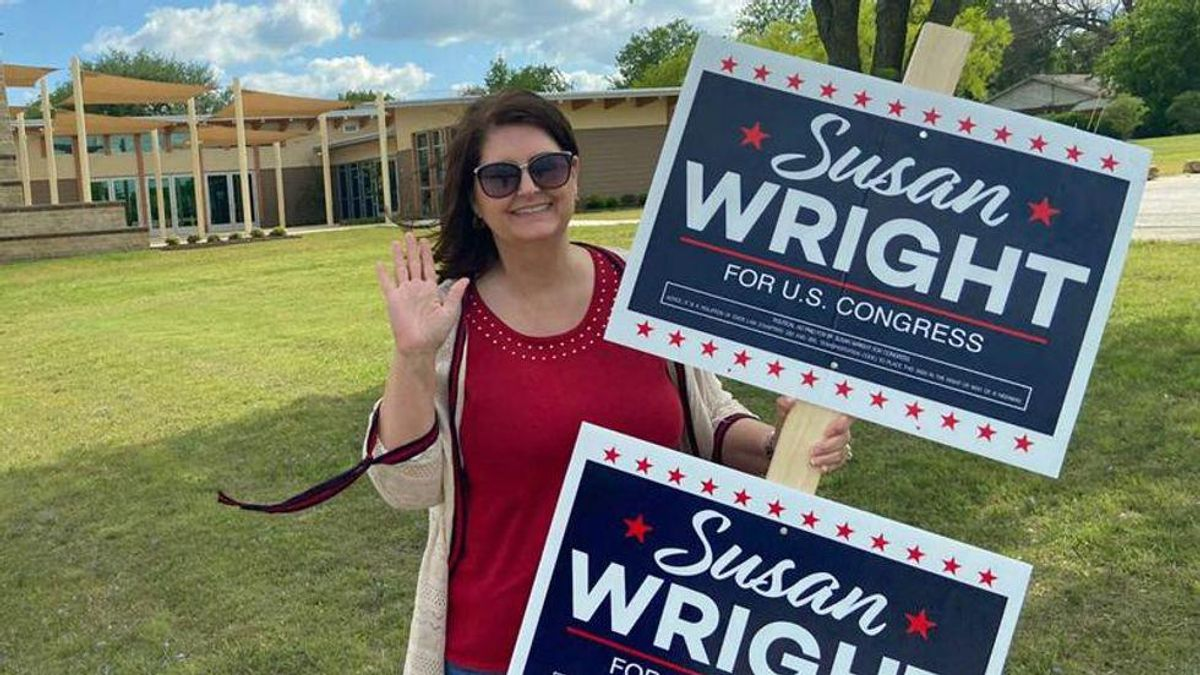 Trump-endorsed candidate knew she was in trouble after seeing mask-wearing voters showing up to polls