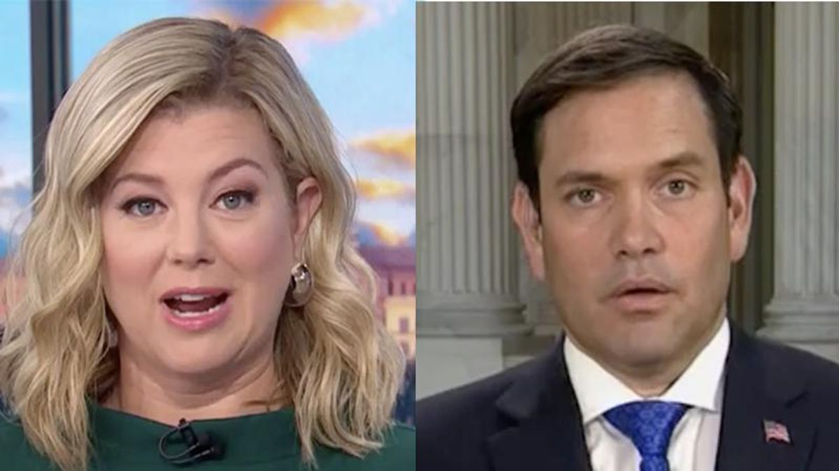 Marco Rubio burned to the ground by CNN's Keilar after he 'punched himself in the face' with mask rant