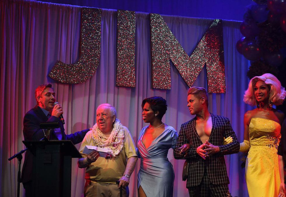 A Chicago drag legend celebrates his 80th birthday with showgirls, sequins and a few hundred of his closest friends: 'He's iconic and everybody knows it'