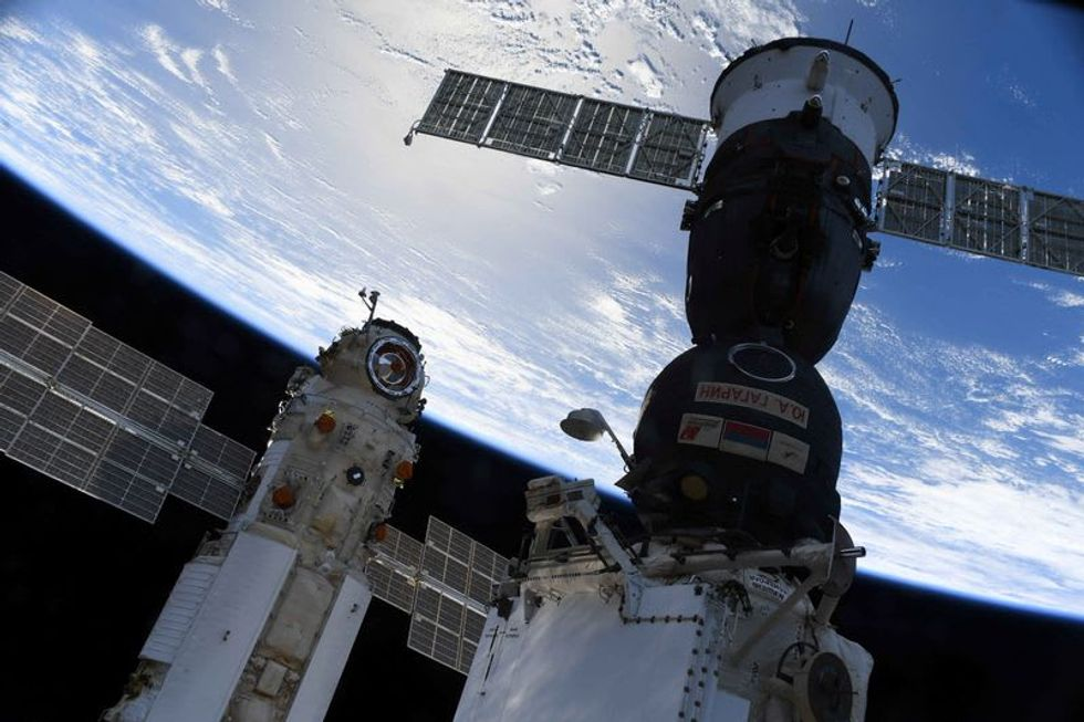 Russia blames software glitch after space station briefly thrown out of control