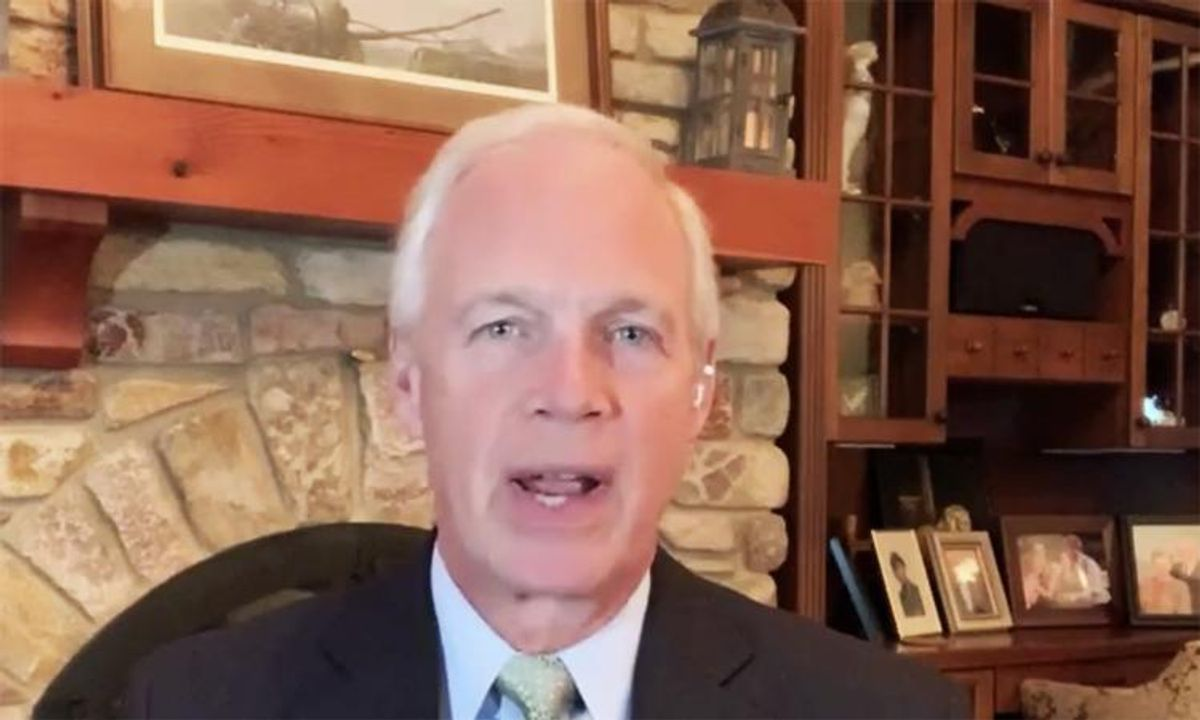 'Has he had a severe head injury?': Ron Johnson ripped for denying COVID is a 'deadly disease'