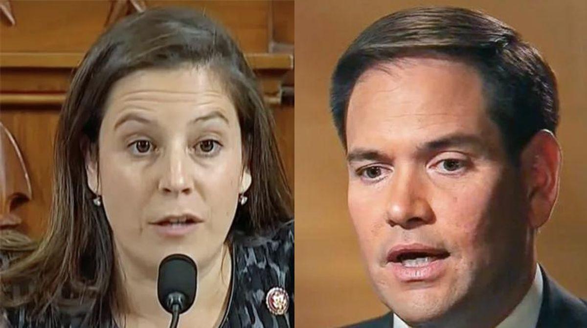 Steve Schmidt goes scorched earth on 'titanic frauds' Elise Stefanik and Marco Rubio in brutal takedown