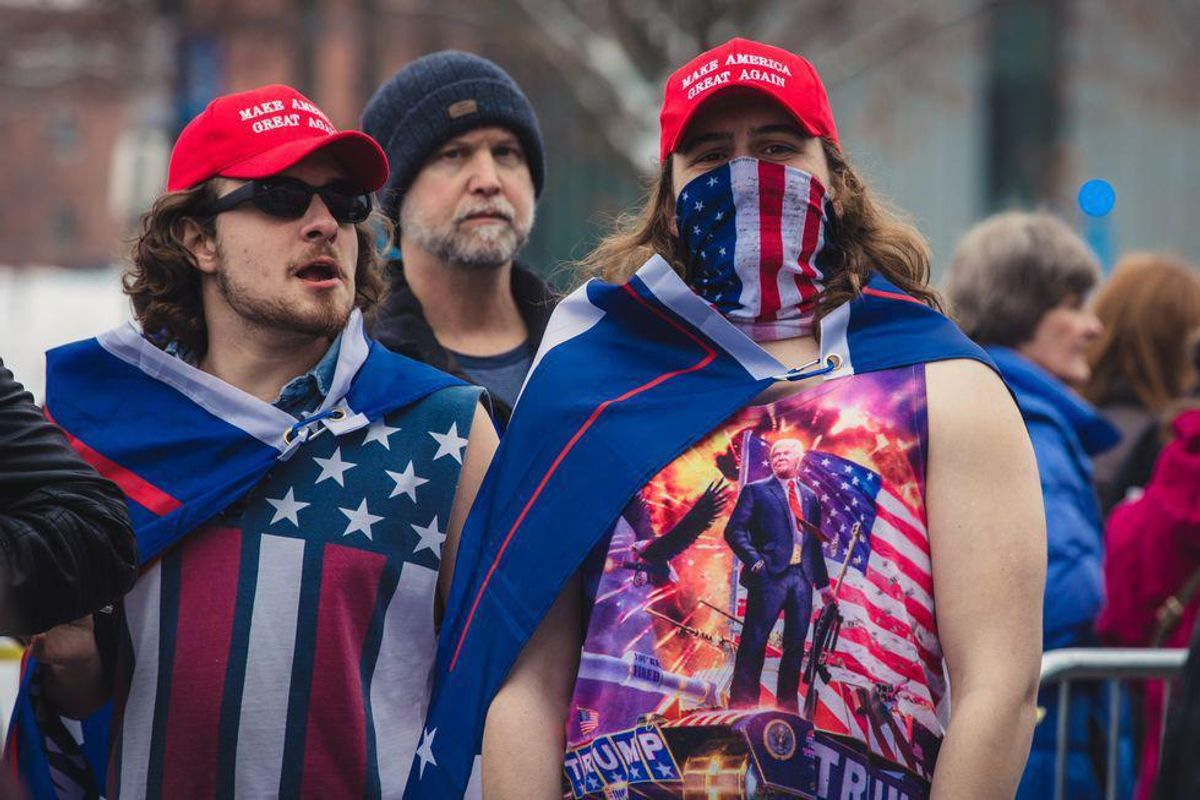 Large percentage of Republicans believe 'patriotic Americans' could 'take the law into their own hands'