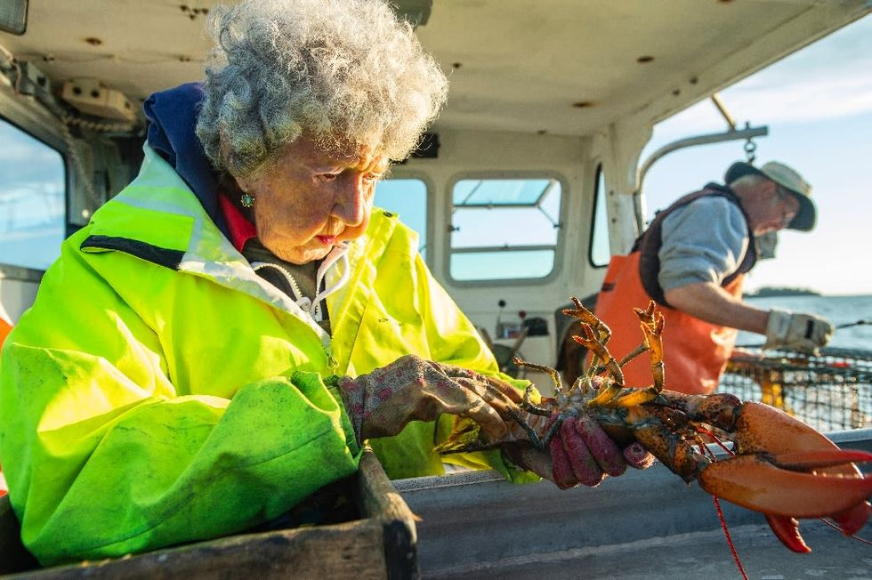 Maine's 'Lobster Lady' is 101 and going strong