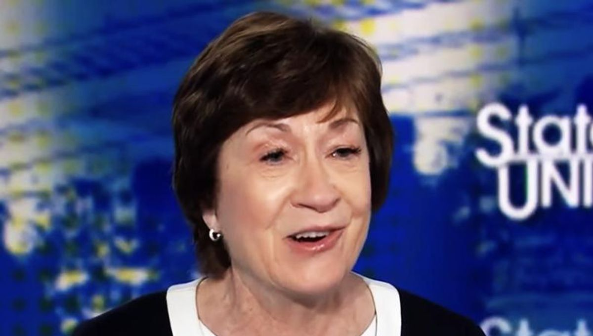 'What an embarrassment': Critics pile on Susan Collins after her Capitol riot committee comments