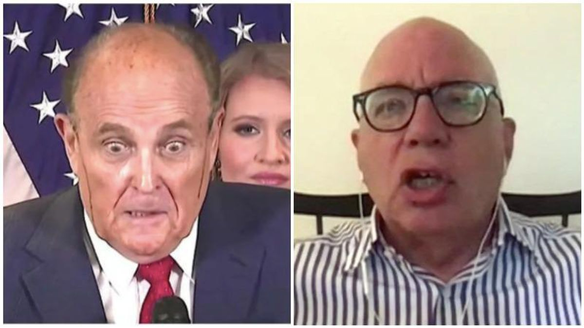 'Drunken' Giuliani kept wiggling back into Trump's inner circle after getting pushed out for creating havoc: Michael Wolff