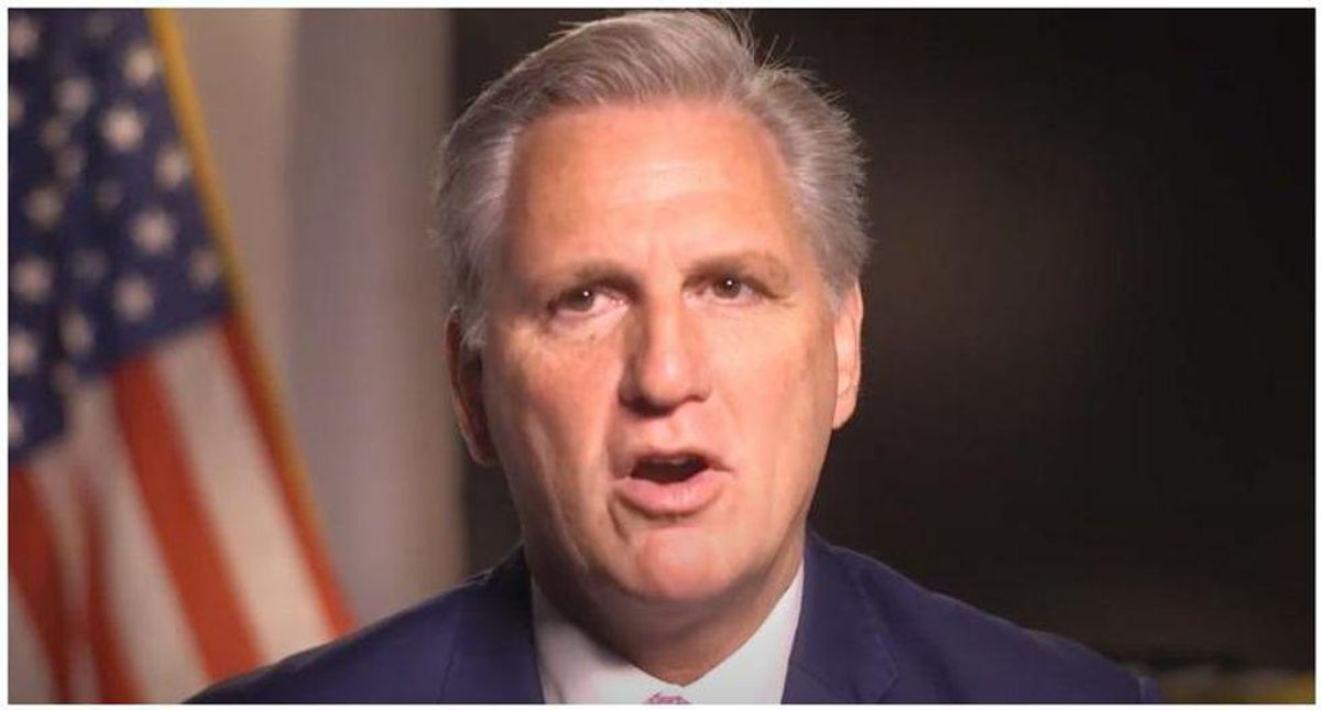 Kevin McCarthy brutally shamed for nominating Republicans who rejected election results to Capitol riot commission