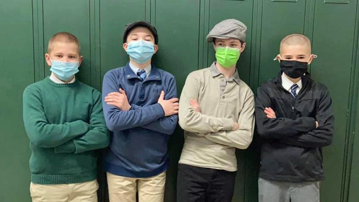 Michigan Catholic school says making students wear masks would be a direct affront to God