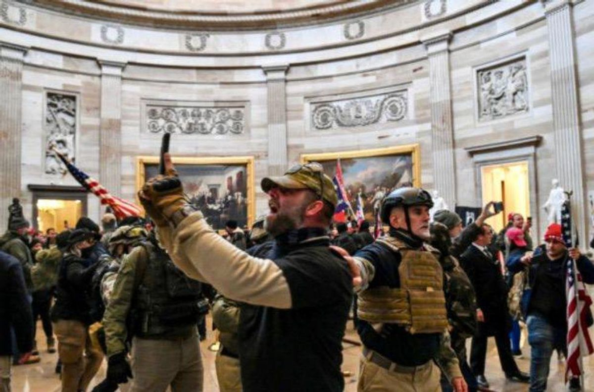 Oath Keeper who stormed Capitol in military 'stack' will plead guilty in conspiracy to overturn Trump loss