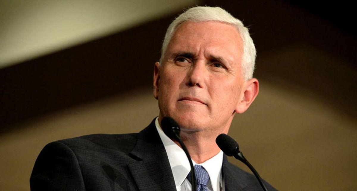 Pence falls flat at conservative Christian conference as evangelicals grow 'frustrated' with Trump's Supreme Court justices: report