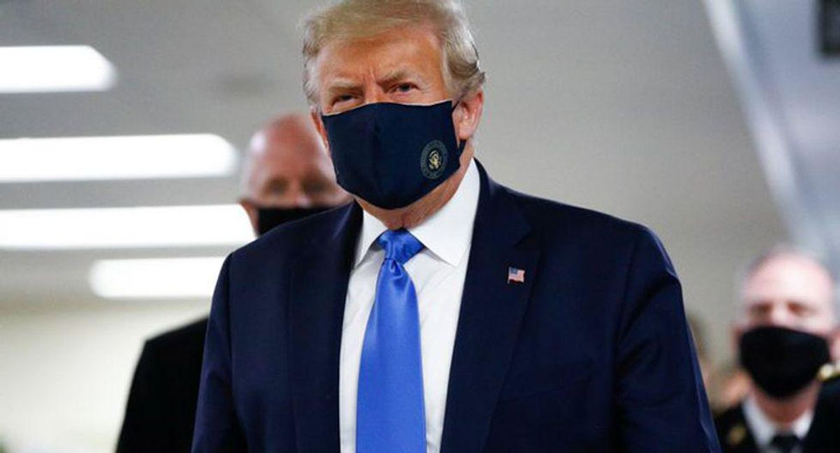 Trump confessed that wearing a mask made him look weak — even after aides said it could save 100,000 lives: new book