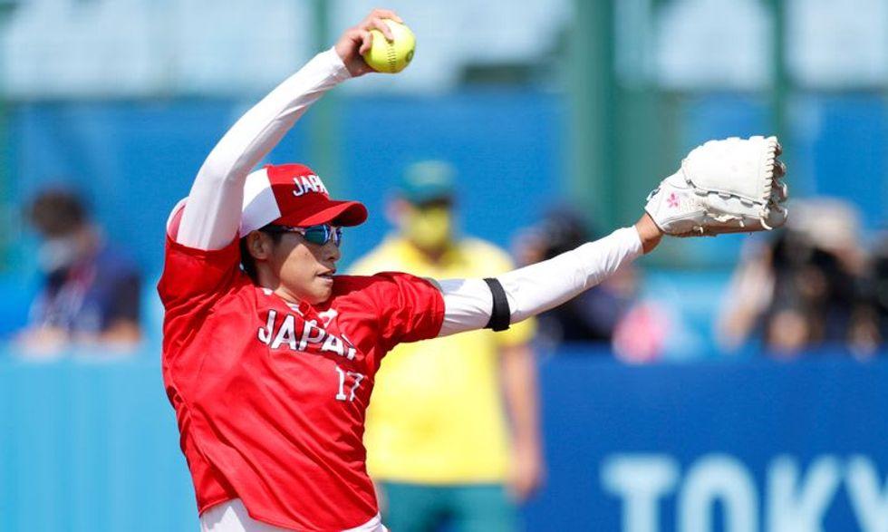 Olympics:Japan wins softball opener as Games 'of hope' begin