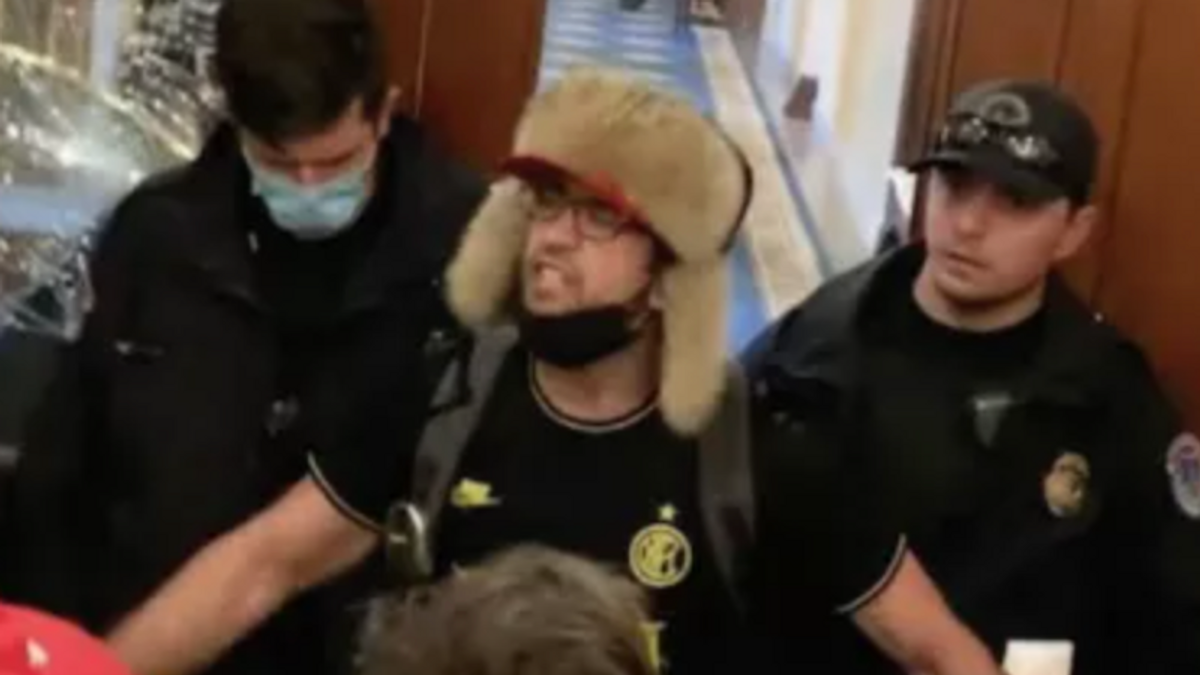 'Helmet boy' Capitol insurrectionist demands plea deal in 'off the rails' hearing: 'Can I get an offer?'