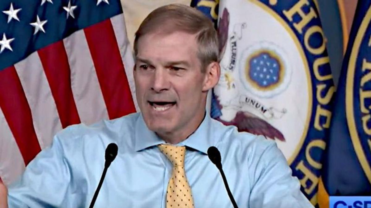 Jim Jordan blames Democrats for 1/6 insurrection after Pelosi boots him from investigation: They 'normalized anarchy'