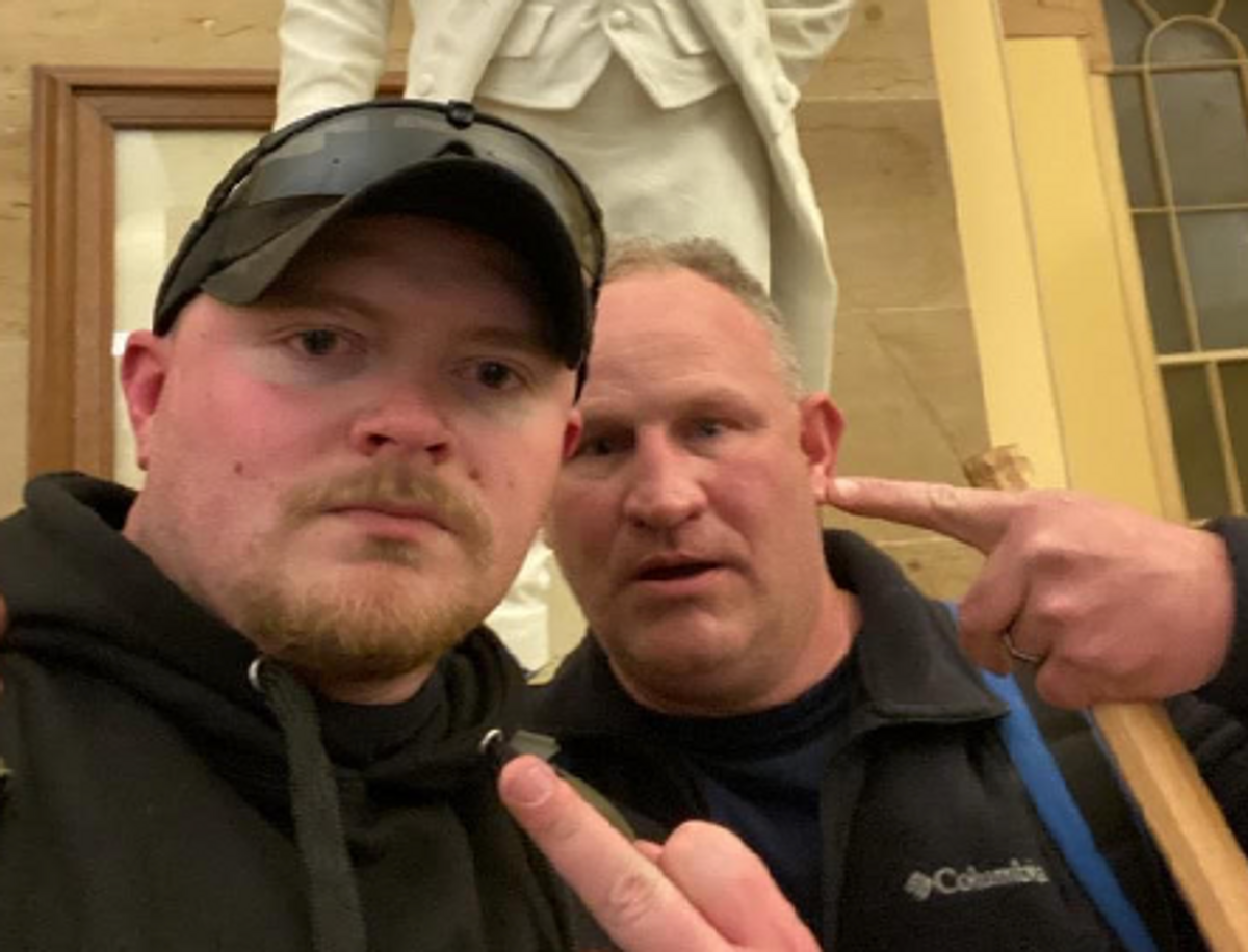'Uniquely disturbing': Cop who stormed Capitol assembled 'arsenal' while awaiting trial