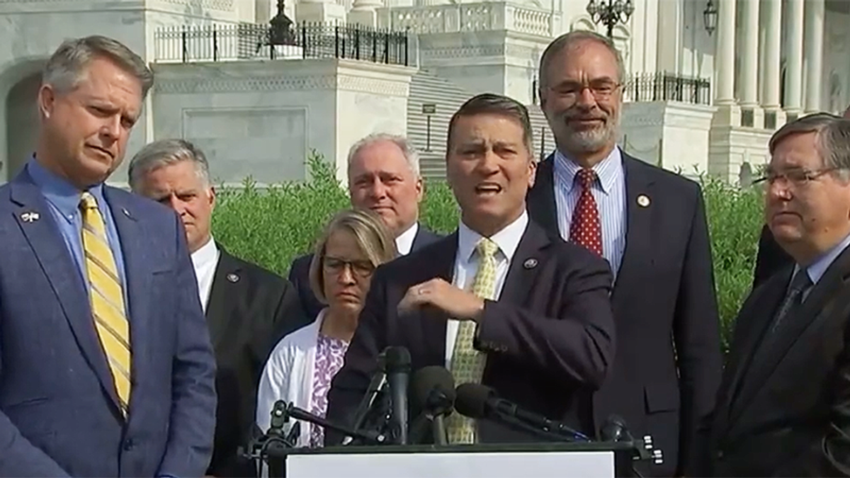 Republican Ronny Jackson schooled after whining media never asks Democrats if they're vaccinated