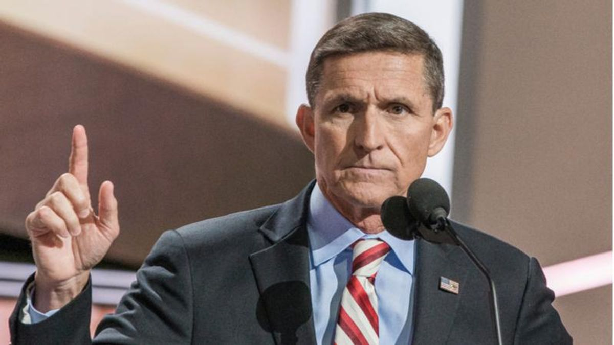 Man attacked by angry mob at GOP event after calling Michael Flynn 'the biggest scumbag traitor in the history of this country': lawsuit
