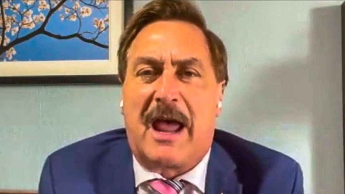 Mike Lindell is furious because everybody is ignoring his sketchy $5 million election bounty
