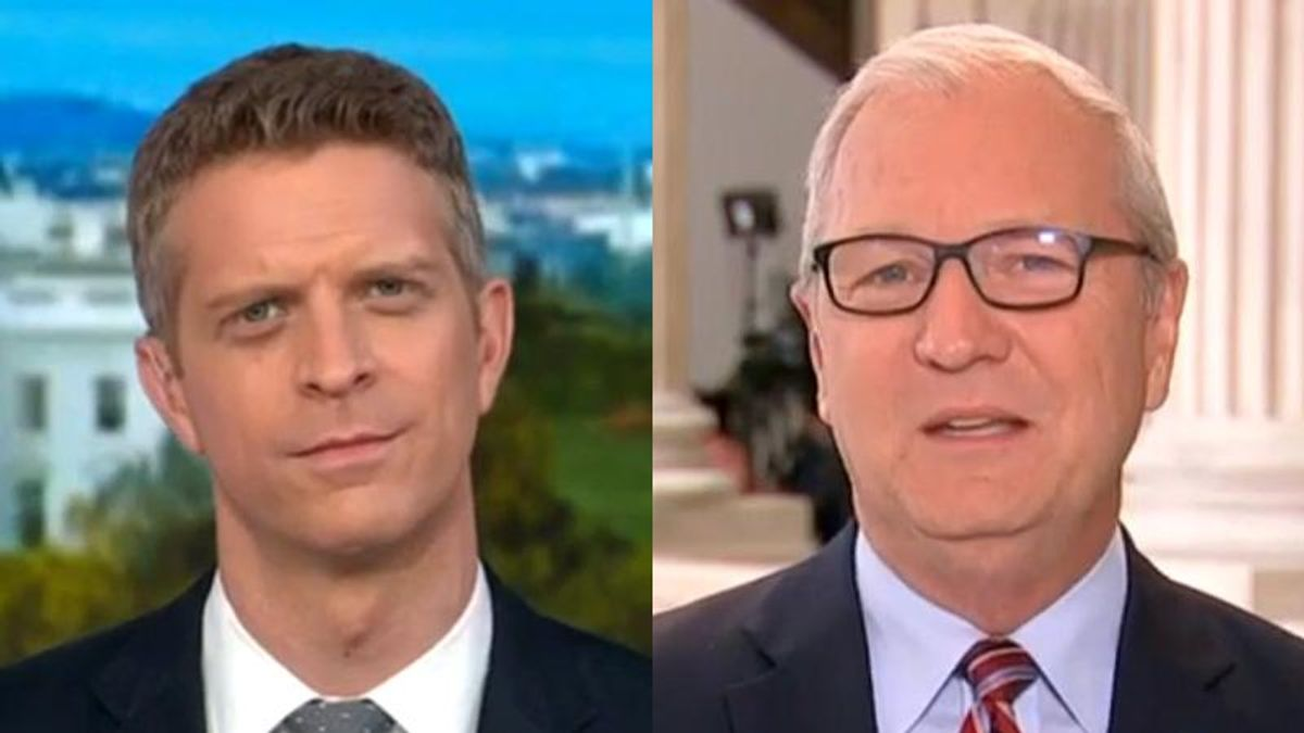 MSNBC host visibly stunned after GOP senator claims people aren't allowed to pray for someone's health because of HIPAA privacy laws