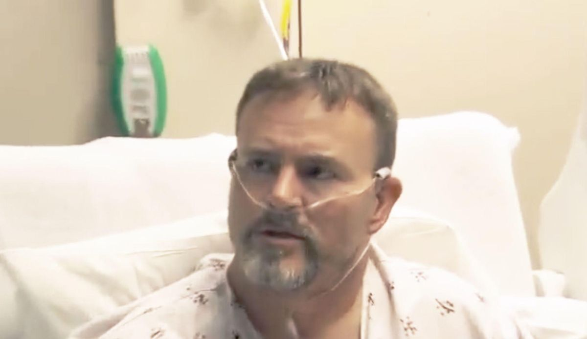'Don't shove it down my throat!' Hospitalized patient says he'd rather get COVID again than get vaccinated