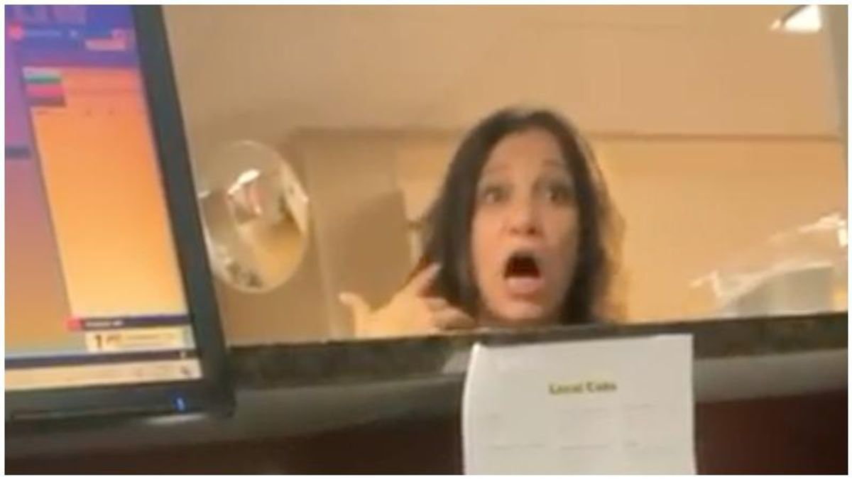 Enraged white woman caught on video repeatedly calling Black hotel clerk the N-word -- now she's facing criminal charges