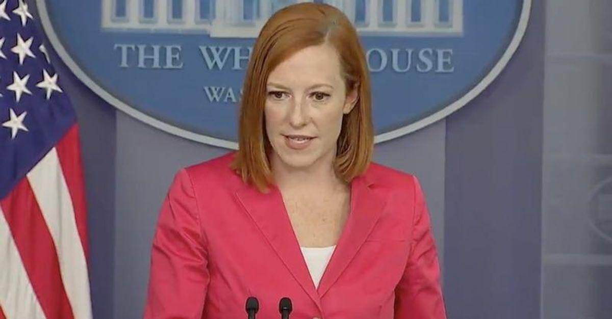 Jen Psaki smacks down Ron DeSantis for calling Joe Biden a 'power hungry tyrant'